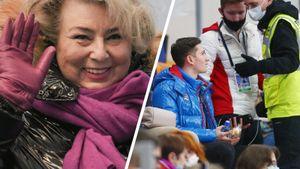Овации Тарасовой, грусть из-за снятия Щербаковой, фигуриста сборной выгнали с трибун. 1-й день Гран-при в Москве