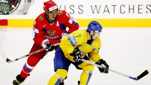 Как Россия громила Украину на своей земле. Овечкин разочаровал, но наши все равно забили 8 голов на ЧМ-2007