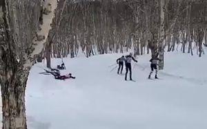 Источник: лыжник погиб на Камчатке, ударившись головой о дерево на большой скорости