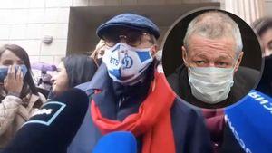 Адвокат семьи погибшего водителя надел маску «Динамо» на апелляцию по делу болеющего за «Спартак» актера Ефремова