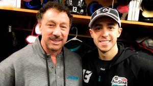 Отец звезды НХЛ пережил сердечный приступ, а через 10 месяцев стал тренером сына. Настоящий герой