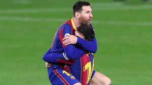 Месси забил свой самый быстрый гол после выхода на замену в Ла Лиге