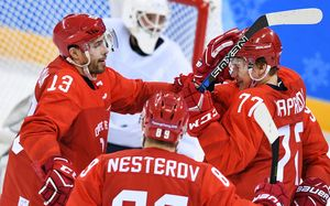 Хет-трик Капризова и еще 9 фактов о первой победе российских хоккеистов на Олимпиаде