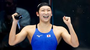 Японская пловчиха Икее год боролась с лейкемией. Победила, вернулась в бассейн и хочет на Олимпиаду