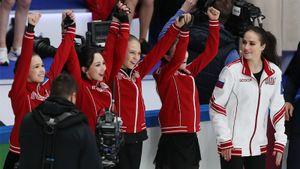 Русские девушки совершили камбэк в прыжковом турнире и унизили парней на Кубке Первого канала. Они получили миллион