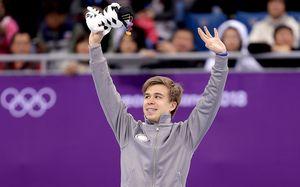 Первая медаль России в Пхенчхане: Елистратов в шорт-треке!