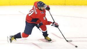 40-й гол Овечкина всезоне НХЛ 2018/19 вворота «Анахайма»
