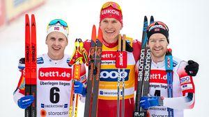 Норвежский лыжник Крюгер: «Немного раздражает, что мывчетвером несправились содним русским»
