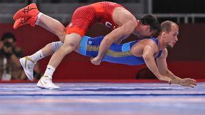 Россиянин Емелин завоевал бронзовую медаль в греко-римской борьбе в весе до 60 кг на Олимпиаде в Токио