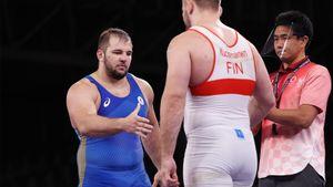 Семенов стал бронзовым призером Олимпиады в греко-римской борьбе в весе до 130 кг