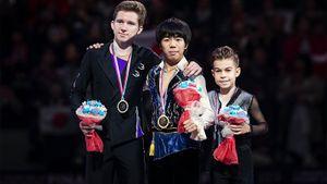 Японец Сато неожиданно победил двух лучших русских юниоров в финале Гран-при. У нас 2 медали
