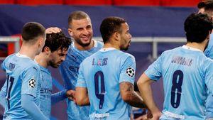 «Манчестер Сити» победил гладбахскую «Боруссию» в 1-м матче 1/8 финала Лиги чемпионов