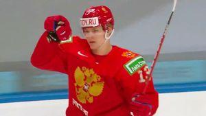 Шикарный гол русского хоккеиста в четвертьфинале МЧМ. Пономарев умчался от немцев и красиво обвел вратаря: видео