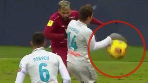 Правильно ли назначен пенальти в ворота «Зенита» в матче с «Рубином»: разбор эпизода с видео