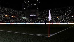 Сандалии на поле, стадион во мраке и сборная подражателей Дзюбы. Экзотические фото Кубка Азии — 2019