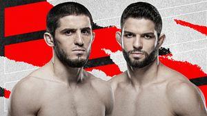 Преемник Хабиба уберет бразильца и сделает еще один шаг к поясу UFC. Прогноз на бой Ислам Махачев— Тиаго Мойзес