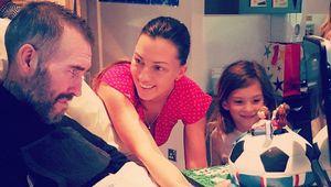 Жена умершего экс-игрока «Зенита» рассказала трогательную историю: 7-летняя дочь увидела отца в небе