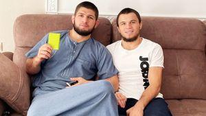 «Встретимся с командой Конора — что-то нехорошее будет». Брат Хабиба дерется в UFC за три дня до боя Макгрегора