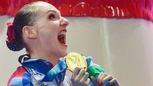 Ромашина выиграла свое 20-е золото на ЧМ. Но бить рекорд Майкла Фелпса она отказывается