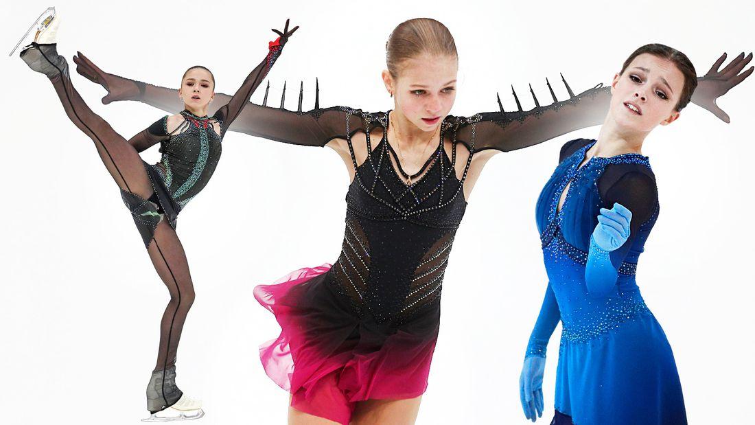 Первая встреча в сезоне Валиевой, Щербаковой и Трусовой. Главное о чемпионате России по фигурному катанию