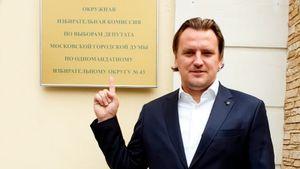 В Мосгордуму по скандальному участку баллотируется бывший футболист. Булыкин — соперник Соболь