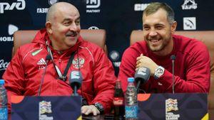«Мы начали лучше общаться с Соболевым. Нашли точки соприкосновения». Дзюба и Черчесов — перед игрой с Турцией