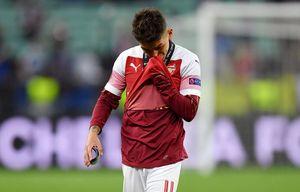 Футболист «Арсенала» Лукас Торрейра расплакался из-за поражения от «Челси» в финале Лиги Европы
