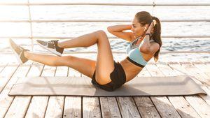 Самые эффективные упражнения на нижний пресс: убираем складку и получаем плоский живот