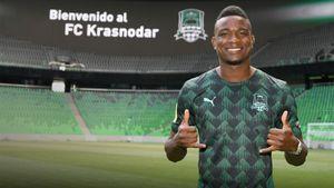 «Краснодар» оформил трансфер колумбийского нападающего «Герты»