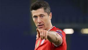 Левандовски вышел на 3-е место в списке лучших бомбардиров в истории Лиги чемпионов