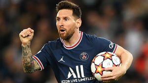 Месси вытащил «ПСЖ» в Лиге чемпионов на глазах своего учителя Роналдиньо. Издевательский дубль