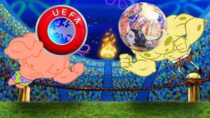 В соцсетях шутят о скандальной Суперлиге. Трансляции на Disney Channel, мяч из денег и пародия на «Баварию»