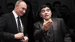 Поддерживал Путина, сделал тату с Фиделем Кастро. Как Марадона дружил с президентами и диктаторами