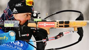 Дестье выиграл спринт на этапе Кубка мира, Латыпов — 10-й