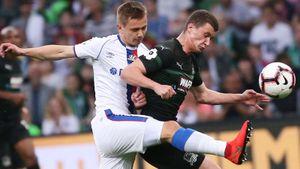 «Краснодар» победил ЦСКА вбитве заЛигу чемпионов. Влашич удалился иполучил травму. Как это было