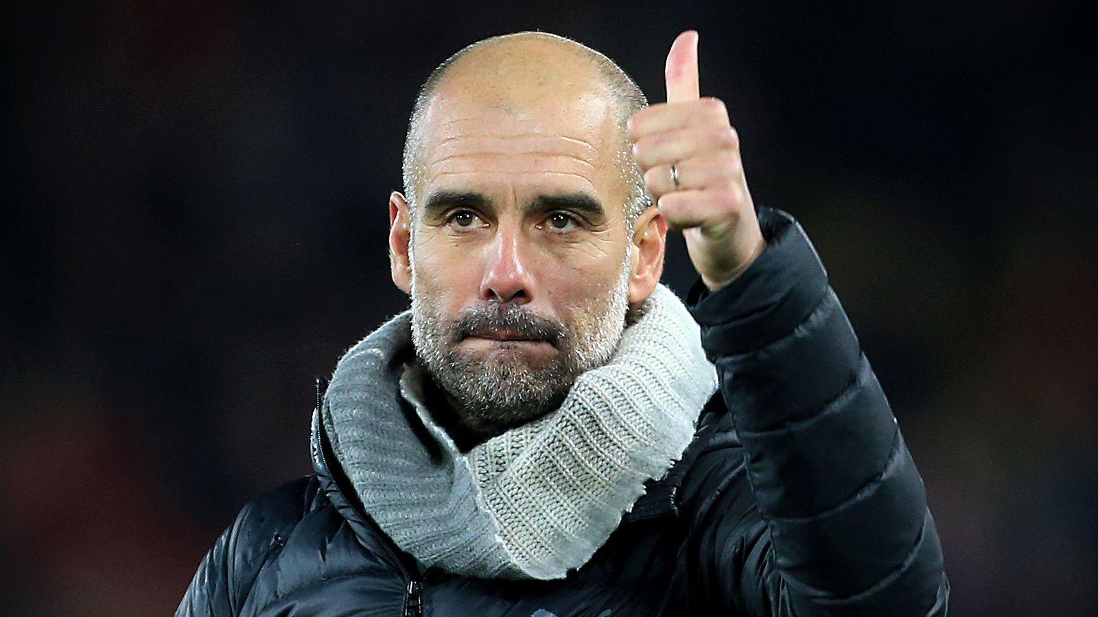 Хосеп Гвардиола тренер ФК Манчестер Сити