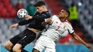 Германия в Мюнхене сыграла вничью с Венгрией и вышла в плей-офф чемпионата Европы со второго места