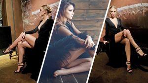 «Что задлинноногая красотка!» Чемпионка Европы Самодурова оценила платье фигуристки Степановой