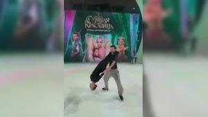 Загитова показала еще одну поддержку в паре с Крамаром на репетиции шоу Навки: видео