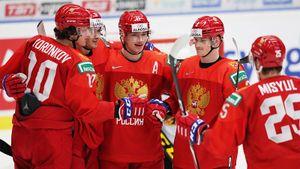Команда Брагина упустила преимущество вдве шайбы. Россия против Швеции— 3:3. LIVE!