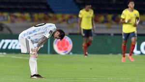 Аргентина упустила победу над Колумбией в отборе к ЧМ-2022, Паредес отметился голом