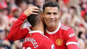 Дубль Роналду помог «Манчестер Юнайтед» разгромить «Ньюкасл»
