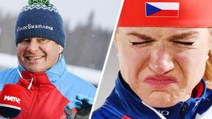 Губерниев высмеял чешскую биатлонистку Коукалову застранную причину ухода изспорта