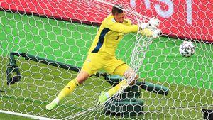 Дубль Шика принес Чехии победу над Шотландией на Евро-2020