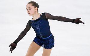 Валиева на показательных на Гран-при России выступила с чемпионской программой «Девочка на шаре»: видео