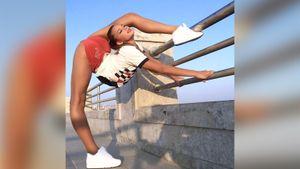 «Странно, но дикпики не присылают». Русская красавица-гимнастка рассказала о негативных сообщениях в директ