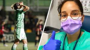 Футболистка «Бетиса» устроилась работать в больницу, чтобы помочь в борьбе с коронавирусом
