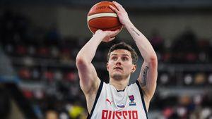 Определен состав сборной России по баскетболу на отборочные матчи к Олимпиаде
