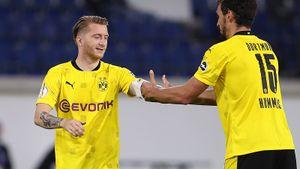 Футболист «Боруссии» Ройс забил гол через 3 секунды после выхода на замену. Это рекорд Кубка Германии: видео