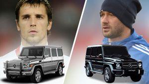 Как у российских футболистов угоняли крутые иномарки в 2010-е